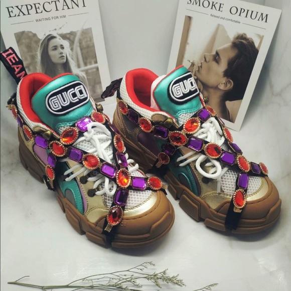 Gucci Shoes | Gucci Flashtrek | Poshmark